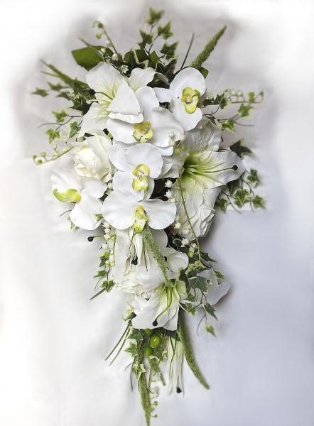Wedding Bouquets With Arum Lilies : Cherry blossom vintage